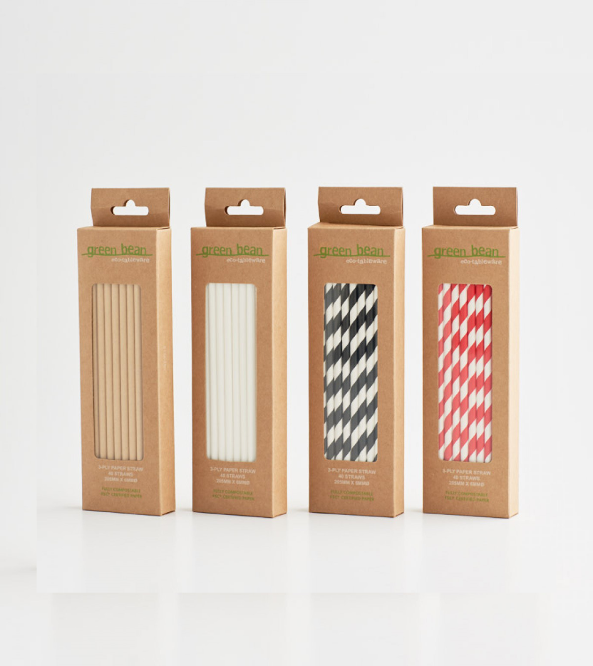 packaging for straws